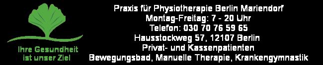 Physiotherpie Berlin